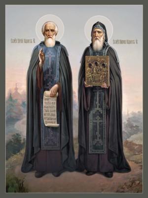 прп. Сергий и Никон Радонежские