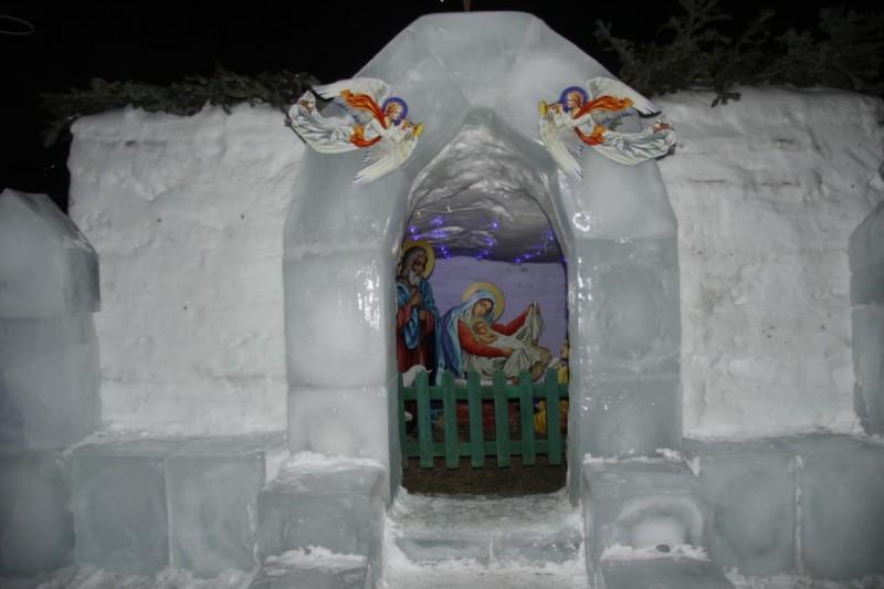 Вертеп при гарнизонном храме ап. Андрея Первозванного г. Вилючинск
