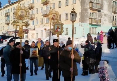 Крестный ход. г. Вилючинск