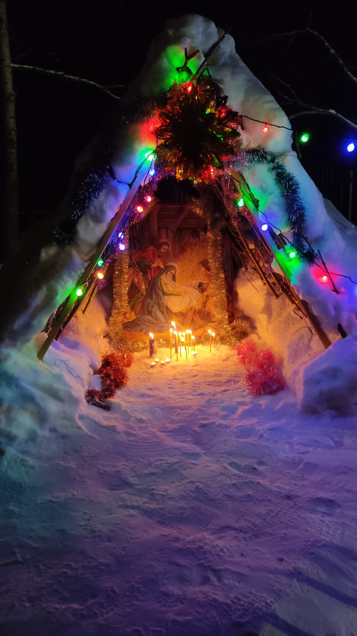 Вертеп при храме Рождества Христова с. Тигиль