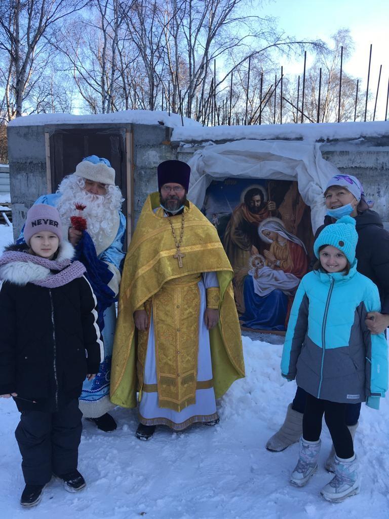 Строящийся храм св. Матроны Московской г. Елизово
