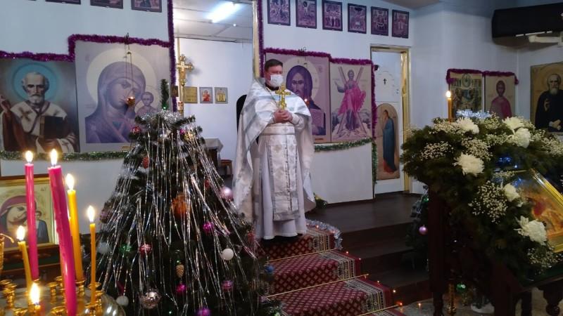 Храм ап. Андрея Первозванного г. Вилючинск
