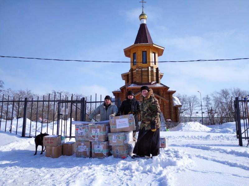 Храм свт. Николая Чудотворца п. Палана