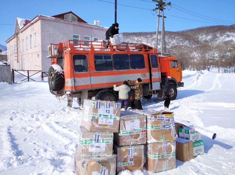 Гуманитарная помощь доставлена в п. Палана
