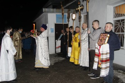 Храм св. ап. Андрея Первозванного г. Вилючинск