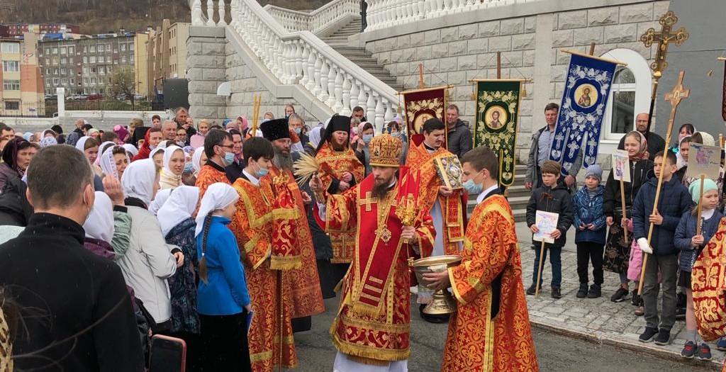 Детская литургия, приуроченная ко Дню славянской письменности и культуры