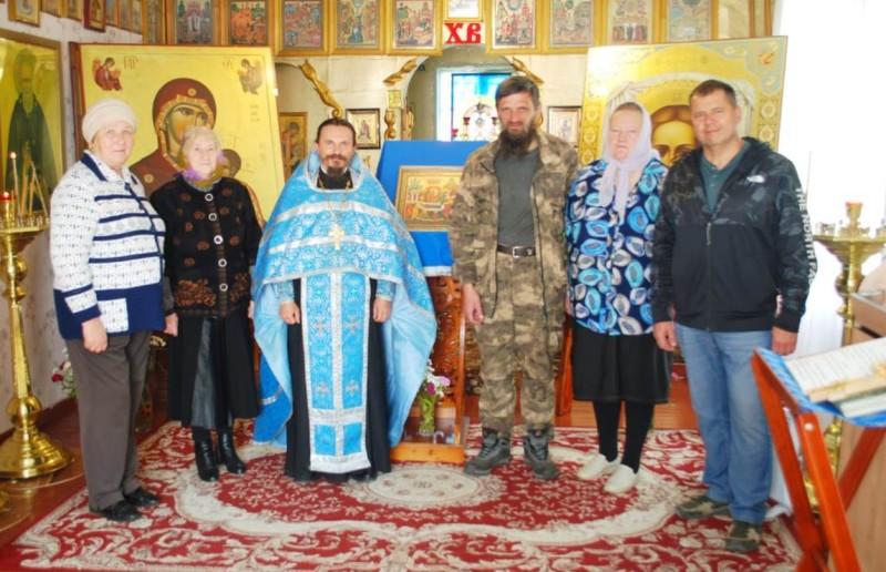 В храме с. Усть-Большерецк